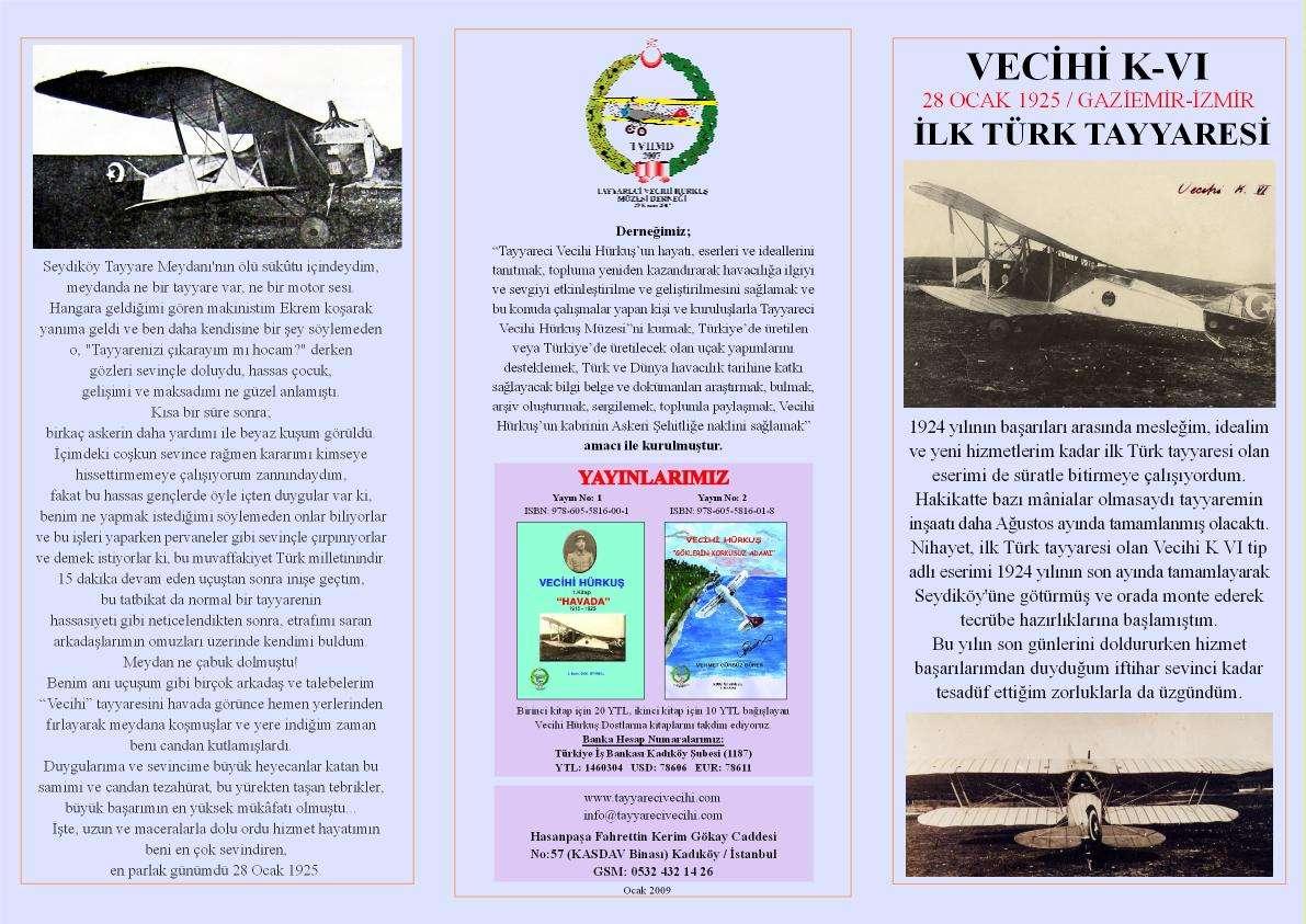 VECİHİ K-VI Broşür a