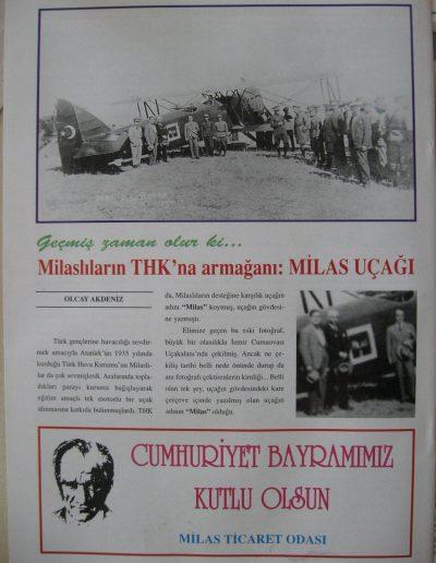 2003 Dergi MİLAS SANAYİ VE TİCARET ODASI d