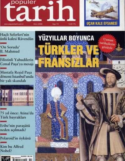 Ekim 2006, Dergi POPÜLER TARİH a