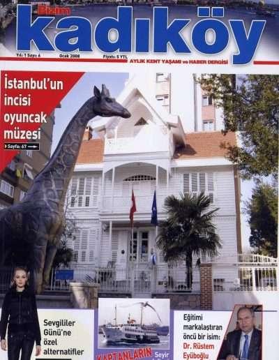 Ocak 2008, Dergi BİZİM KADIKÖY a