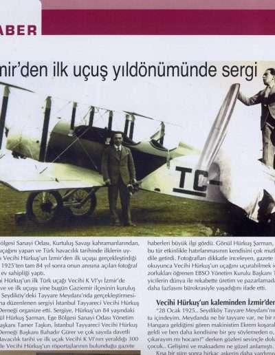 Şubat 2009, Dergi EBSO HABER a