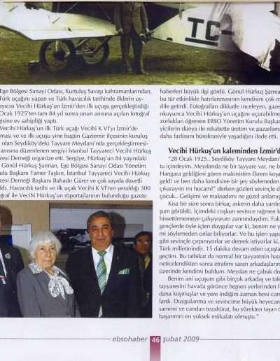 Şubat 2009, Dergi EBSO HABER b