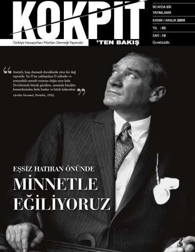 Kasım 2009, Dergi KOKPİTTEN BAKIŞ a