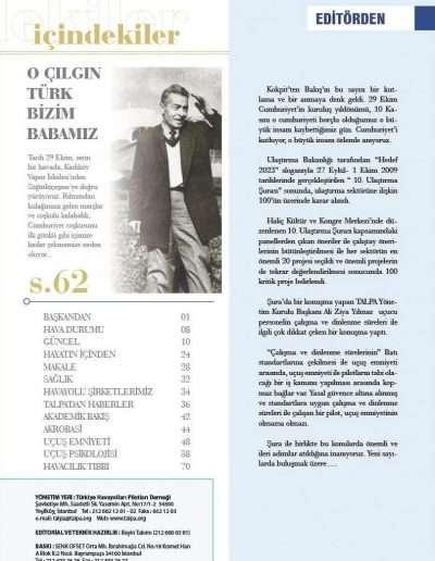 Kasım 2009, Dergi KOKPİTTEN BAKIŞ b