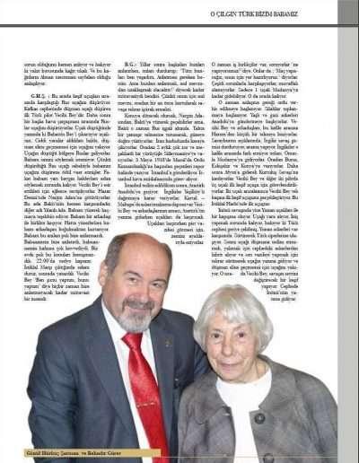 Kasım 2009, Dergi KOKPİTTEN BAKIŞ d