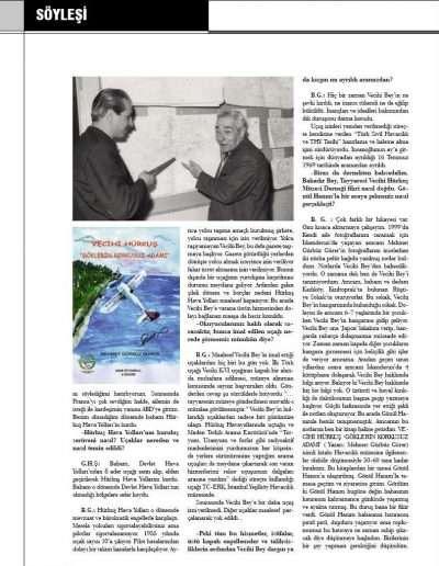 Kasım 2009, Dergi KOKPİTTEN BAKIŞ ı