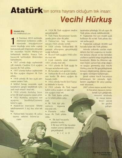 Mayıs 2010, Dergi UÇANTÜRK b