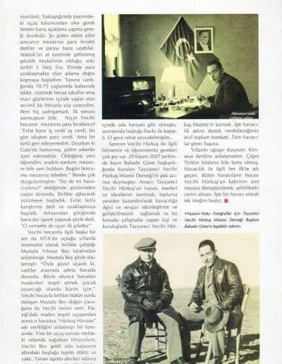 Mayıs 2010, Dergi UÇANTÜRK c