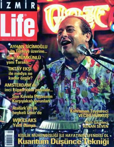 Ocak 2011, Dergi İZMİRLİFE a