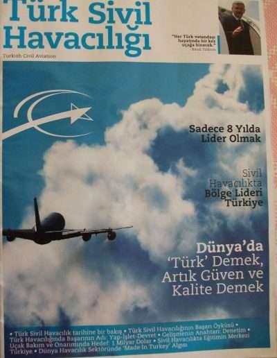 4 Nisan 2011, Dergi TÜRK SİVİL HAVACILIĞI a