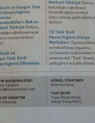4 Nisan 2011, Dergi TÜRK SİVİL HAVACILIĞI b