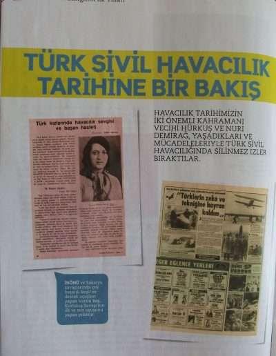 4 Nisan 2011, Dergi TÜRK SİVİL HAVACILIĞI c