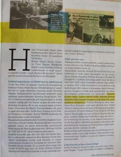 4 Nisan 2011, Dergi TÜRK SİVİL HAVACILIĞI d