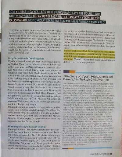 4 Nisan 2011, Dergi TÜRK SİVİL HAVACILIĞI e