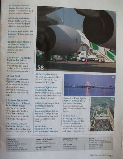 4 Nisan 2011, Dergi TÜRK SİVİL HAVACILIĞI g
