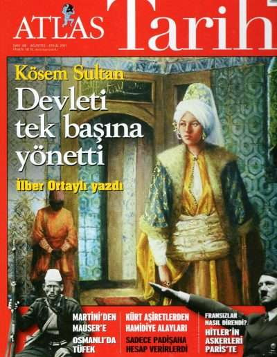 Ağustos 2011, Dergi ATLAS TARİH a