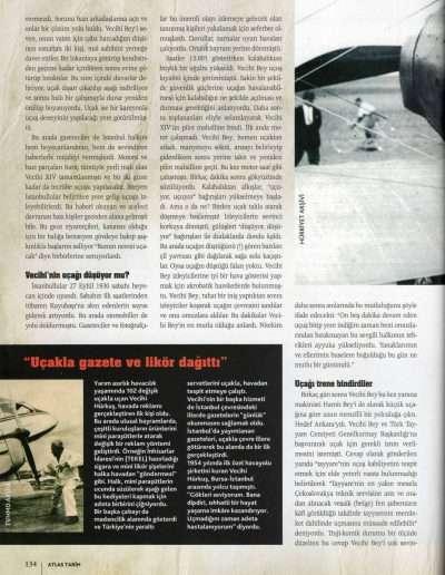 Ağustos 2011, Dergi ATLAS TARİH g