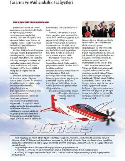 Aralık 2011, Dergi TAİ'NİN SESİ c