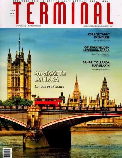 Mart 2012, Dergi TERMİNAL a