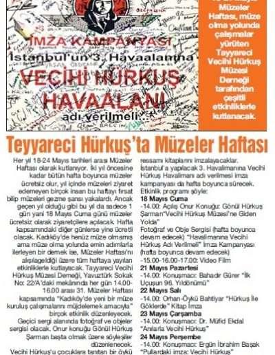 """18 Mayıs 2012, Gazete KADIKÖY """"KÜTÜPHANE HAFTASI"""""""