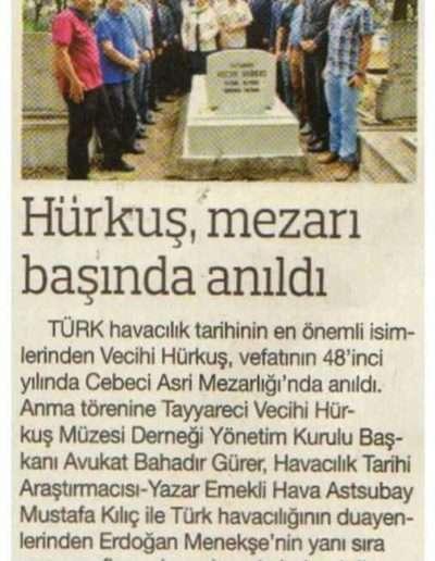 18 Temmuz 2017, Gazete HABERTÜRK ANKARA