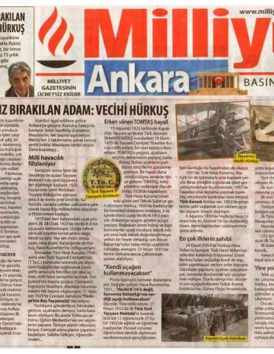 18 Temmuz 2017, Gazete MİLLİYET ANKARA.
