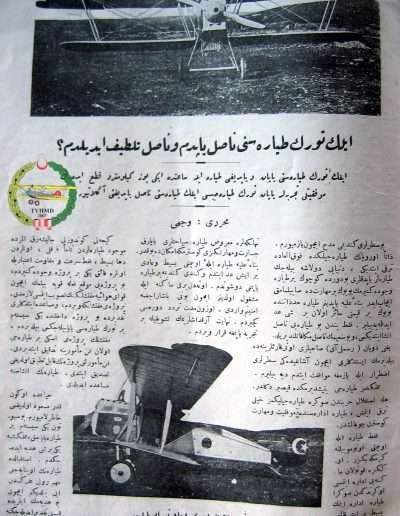 Nisan 1925, Dergi RESİMLİ AY a