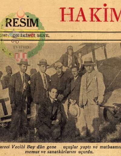 1931, Gazete HAKIMIYETIİ MILLIYE