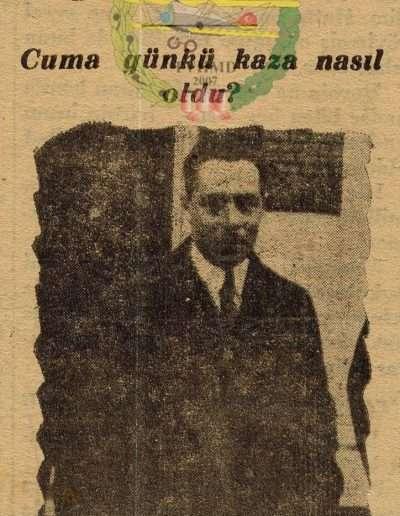 """1932, Gazete """"Hanım Tayyareciler"""""""