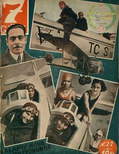 1933, Dergi YEDI GUN S: 22