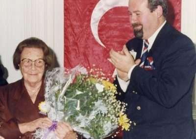 2 Aralık 1993, Sayın Sabiha Gökçen ile