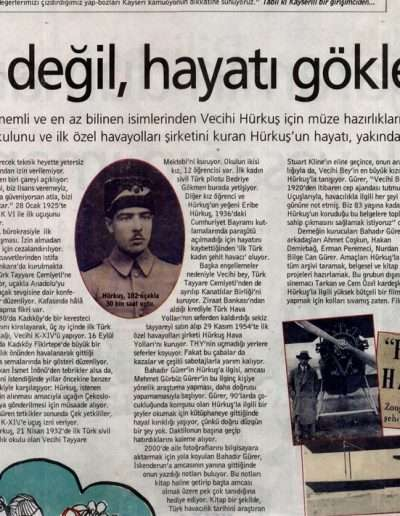 22 Aralık 2007, Gazete RADİKAL E.K. Selçuk