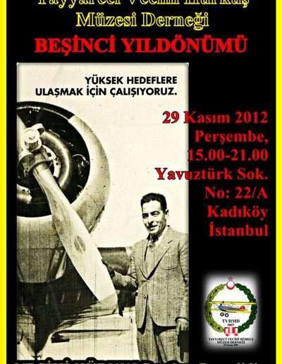 29 Kasım 2012, Kuruluş Yıl Dönümü