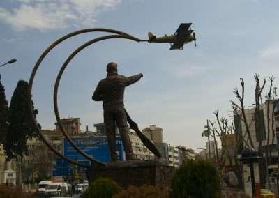 20 Mart 2013, Vecihi Hürkuş Anıtı / Açılış öncesi