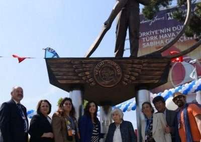 5 Mayıs 2013, Vecihi Hürkuş Anıtı