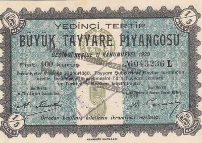 T.Ta.C. / TAYYARE PİYANGOSU / VECİHİ K-VI