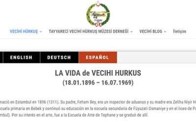Vecihi Hürkuş'un Hayatı Şimdi de İspanyolca