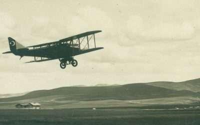 İlk Bağış Uçak Ceyhan Tayyaresi ve Vecihi Hürkuş'un Ceyhan'da İlk Uçuşu