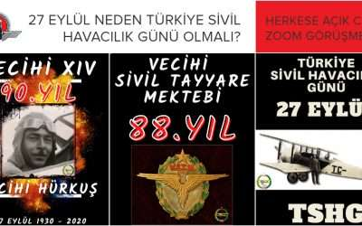 27 Eylül Türkiye Sivil Havacılık Günü
